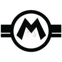 Super Mario Bros Logo Online Gaming Video Game Decal Sticker