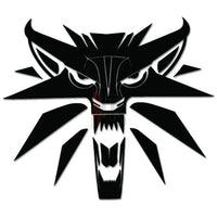 The Witcher Wolf Online Gaming Video Game Decal Sticker