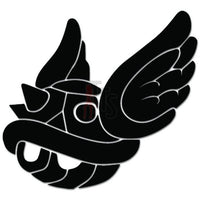 Winged Koopa Shell Online Gaming Video Game Decal Sticker
