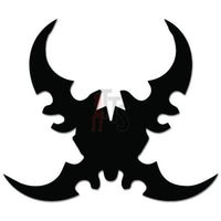 Wow Demon Hunter Twinblades Online Gaming Video Game Decal Sticker