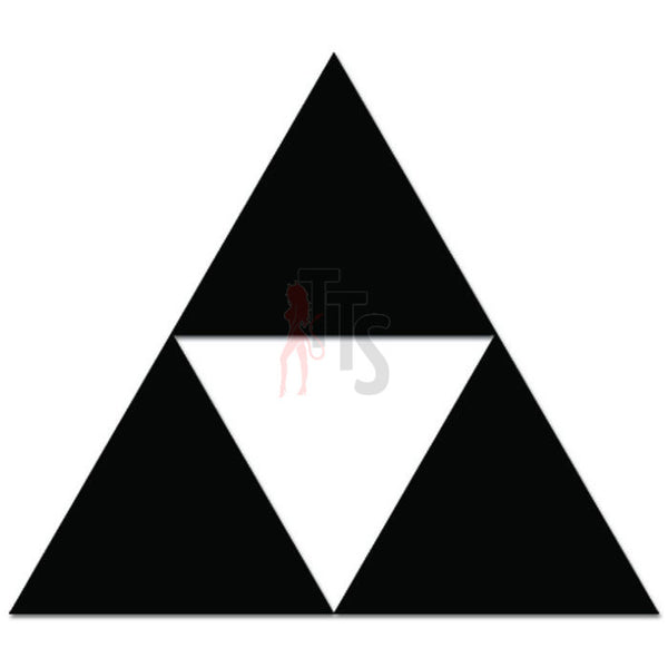 Zelda Triforce Online Gaming Video Game Decal Sticker