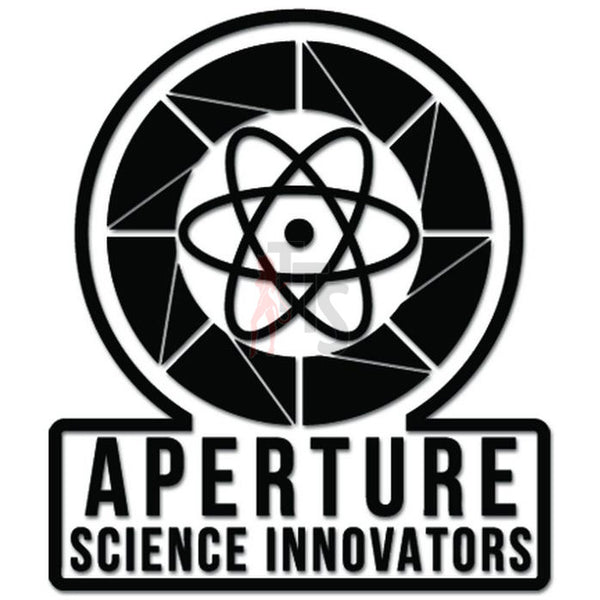 Aperture Science Innovators Online Gaming Video Game Decal Sticker