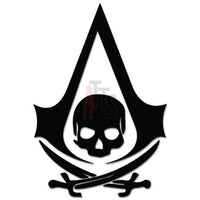 Assassins Creed Pirate Online Gaming Video Game Decal Sticker