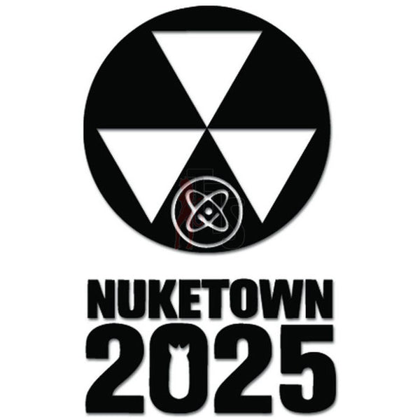 Call Of Duty Nuketown 2025 Online Gaming Video Game Decal Sticker