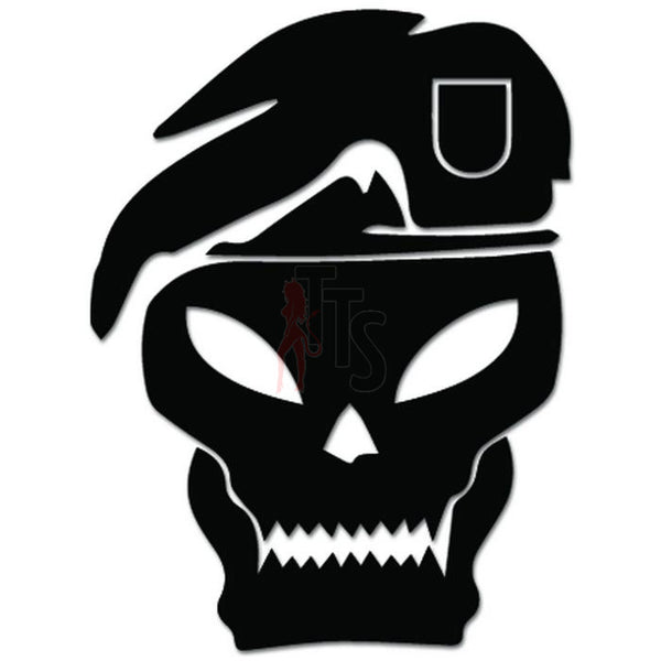 Call of Duty Skull Online Gaming Video Game Decal Sticker