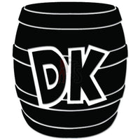 DK Donkey Kong Barrel Online Gaming Video Game Decal Sticker