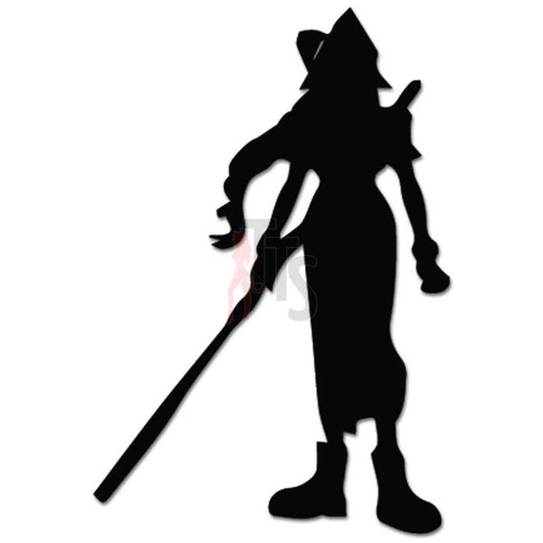 Final Fantasy7 Aerith Online Gaming Video Game Decal Sticker
