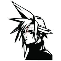 Final Fantasy Cloud Online Gaming Video Game Decal Sticker