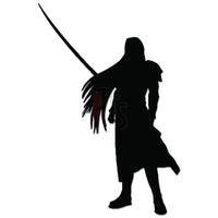 Final Fantasy Ephiroth Online Gaming Video Game Decal Sticker