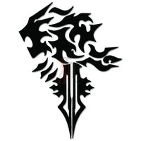Final Fantasy Lionheart Online Gaming Video Game Decal Sticker