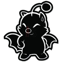 Final Fantasy Moogle Online Gaming Video Game Decal Sticker