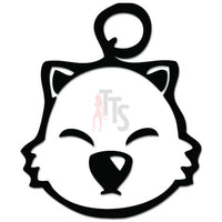 Final Fantasy Moogle Head Online Gaming Video Game Decal Sticker