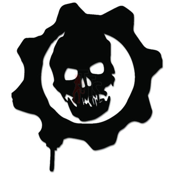 Gears Of War Online Gaming Video Game Decal Sticker