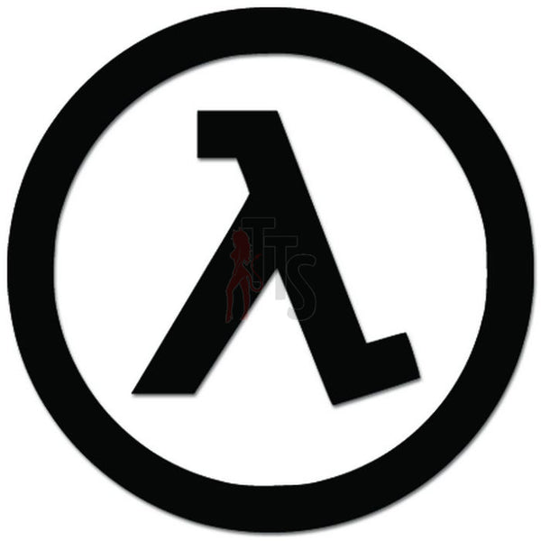 Half Life Online Gaming Video Game Decal Sticker