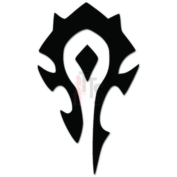 Horde Online Gaming Video Game Decal Sticker