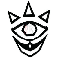 Legend Zelda Majora Online Gaming Video Game Decal Sticker
