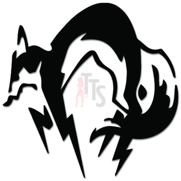 Metal Gear Fox Hound Kojira Online Gaming Video Game Decal Sticker Sticker Style 3