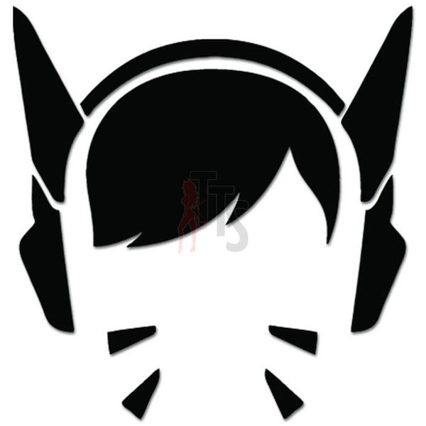 Overwatch D.Va Online Gaming Video Game Decal Sticker