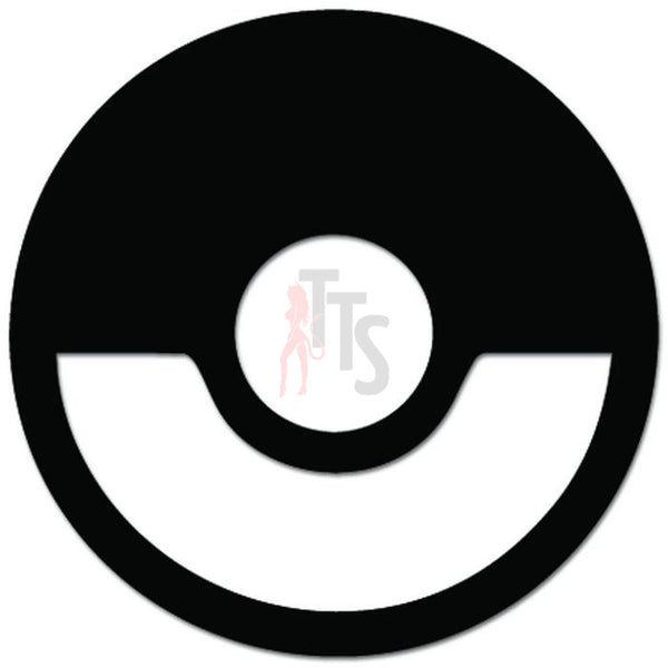 Pokemon Inspired Pokeball Online Gaming Video Game Decal Sticker