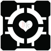 Portal Half Life Online Gaming Video Game Decal Sticker