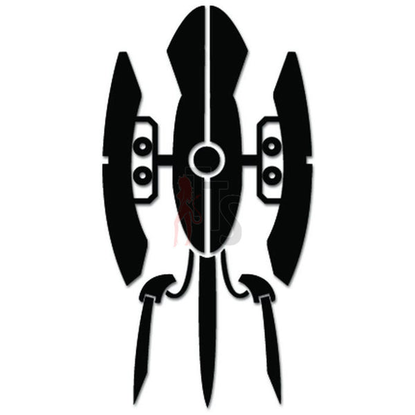 Portal Turret Online Gaming Video Game Decal Sticker