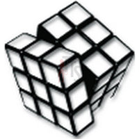 Rubix's Cube Puzzzle Online Gaming Video Game Decal Sticker Sticker Style 2