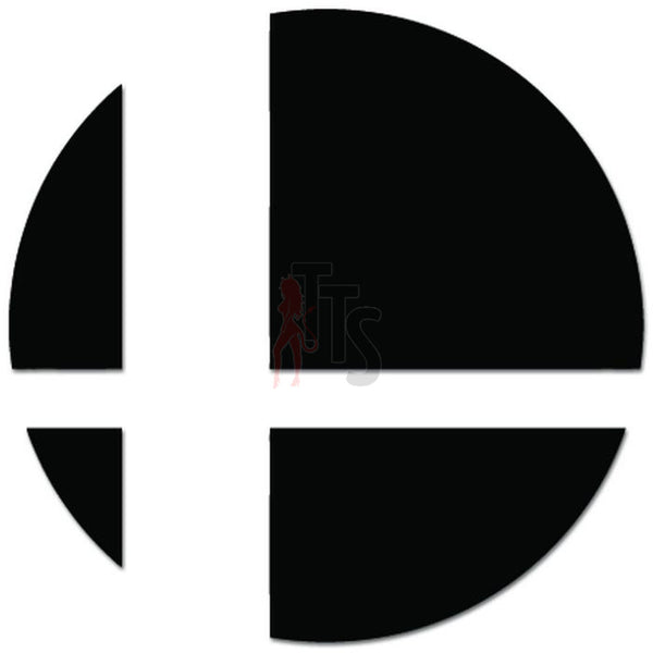 Super Smash Brothers Online Gaming Video Game Decal Sticker