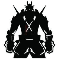 Warrior Online Gaming Video Game Decal Sticker