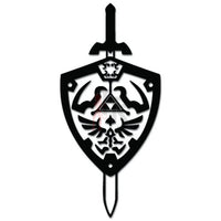 Zelda Sword Shield Online Gaming Video Game Decal Sticker Sticker Style 2