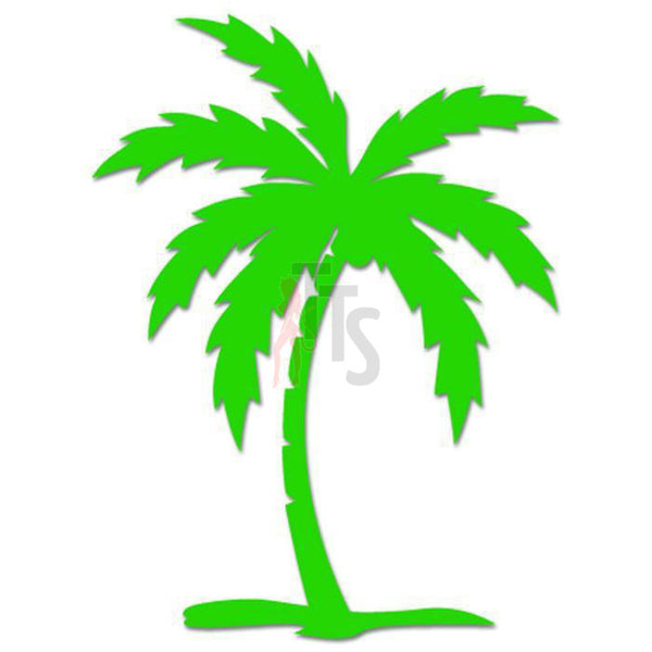 Palm Tree Beach Hawaii Decal Sticker