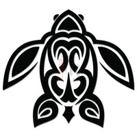 Sea Turtle Hawaii Tribal Art Decal Sticker Style 1