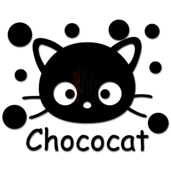 Hello Kitty Chococat Inspired Decal Sticker