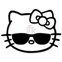 Hello Kitty Cool Sunglasses Inspired Decal Sticker
