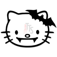 Hello Kitty Vampire Fangs Inspired Decal Sticker Style 2
