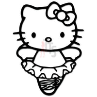 Hello Kitty Ballerina Inspired Decal Sticker