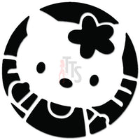 Hello Kitty  Inspired Decal Sticker