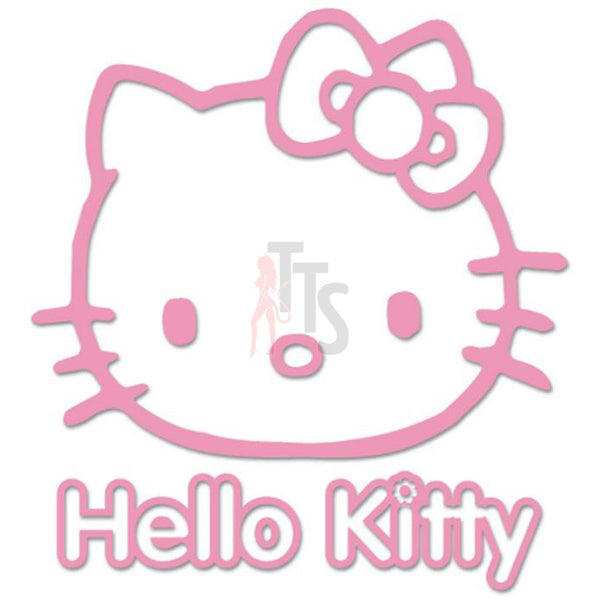 Hello Kitty Decal Sticker Style 1