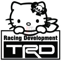 Hello Kitty TRD Toyota Inspired Decal Sticker