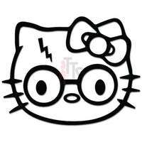 Hello Kitty Harry Potter Inspired Decal Sticker