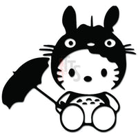 Hello Kitty Totoro Inspired Decal Sticker Style 2