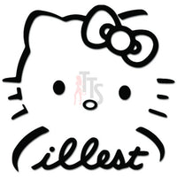 Hello Kitty JDM Illest Inspired Decal Sticker