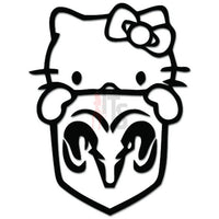 Hello Kitty Dodge HEMI Inspired Decal Sticker