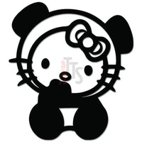 Hello Kitty Panda Bear Inspired Decal Sticker