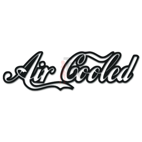 Air Cooled Engine JDM Japanese Sticker - TipTopSIGNS
