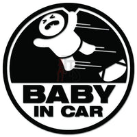 Baby In Car JDM Japanese Sticker - TipTopSIGNS