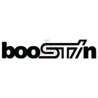 BooSTIn Subaru STI JDM Japanese Sticker - TipTopSIGNS