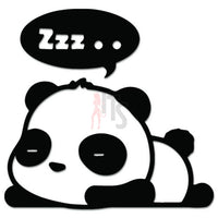 Cute Baby Panda Sleeping JDM Japanese Sticker