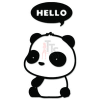 Hello Baby Panda Bear JDM Japanese Sticker
