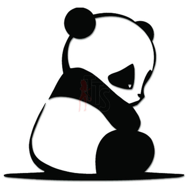 Cute Baby Panda JDM Japanese Sticker Style 2 - TipTopSIGNS
