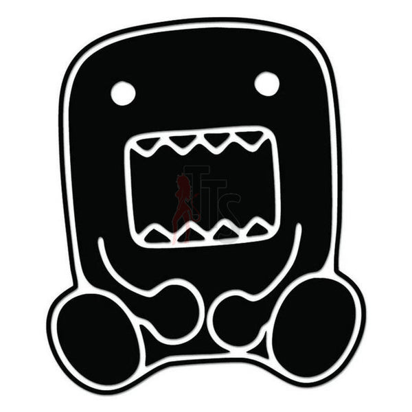 Domo Kun Monster JDM Japanese Sticker Style 2 - TipTopSIGNS